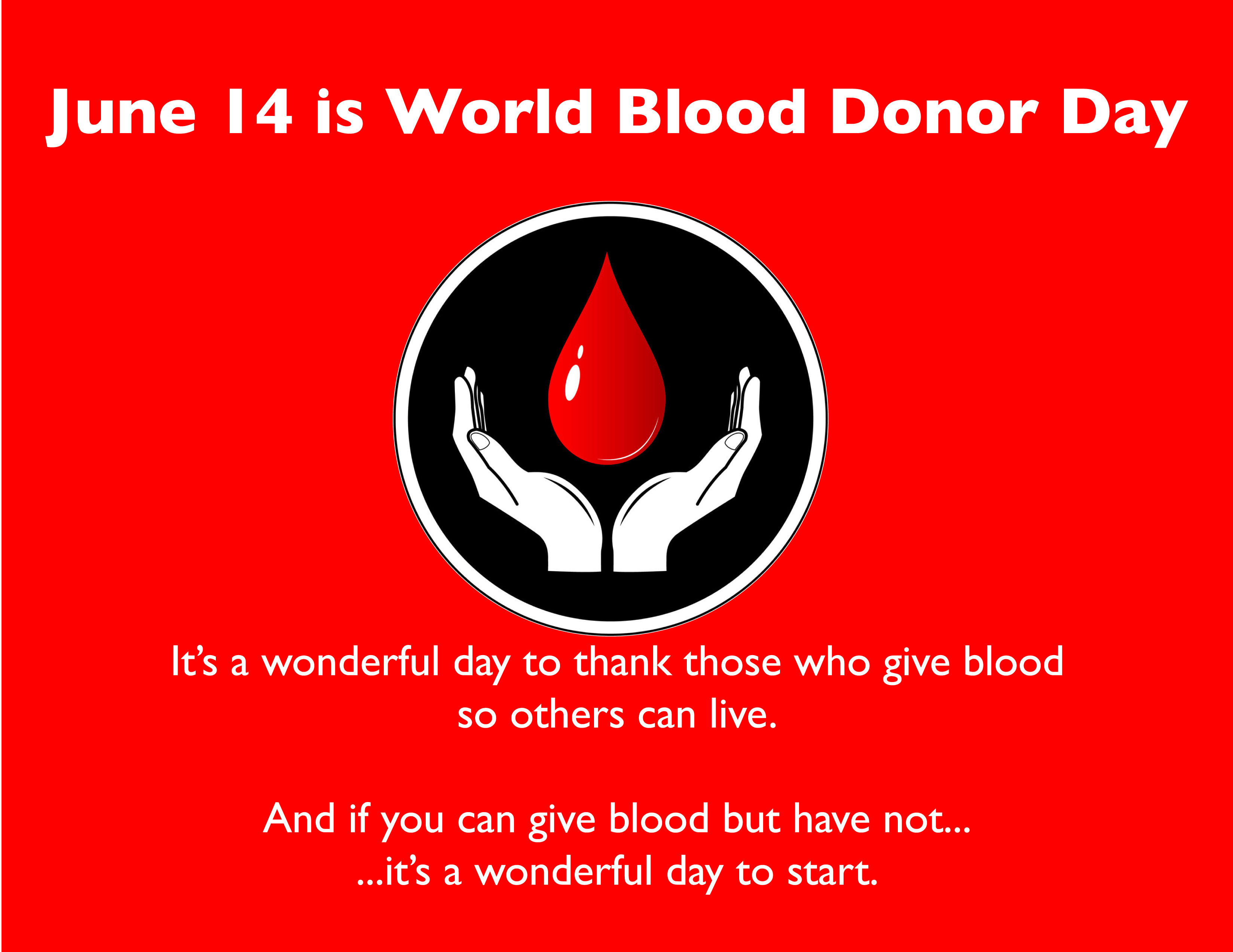 World blood donor day wanderers sports medical centre world blood donor day thecheapjerseys Image collections