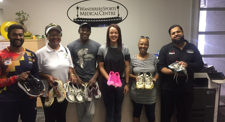 Shoe Drive on Track