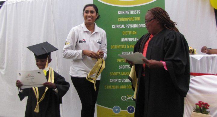 Wanderers Sports Medical Centre and Nanga Vhutshilo celebrate graduation